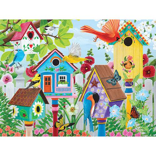 Birdhouse Garden 300 Large Piece Jigsaw Puzzle