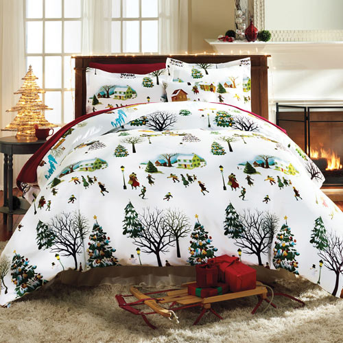 Christmas Village Duvet Set