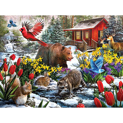 Winter Woods 300 Large Piece Jigsaw Puzzle