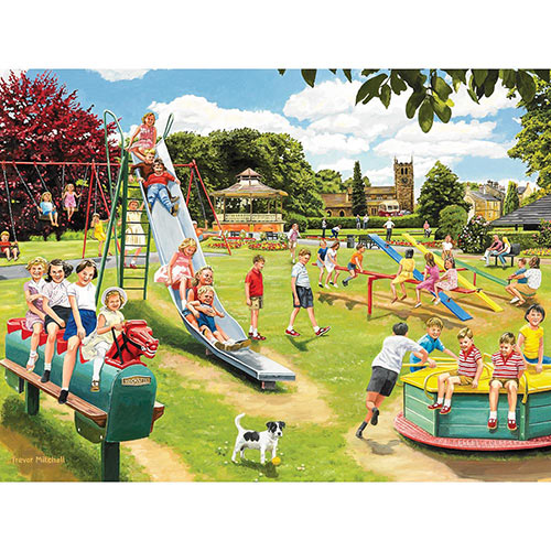 The Park Playground 300 Large Piece Jigsaw Puzzle
