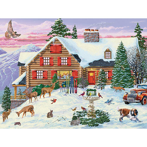 Season's Gathering 300 Large Piece Jigsaw Puzzle