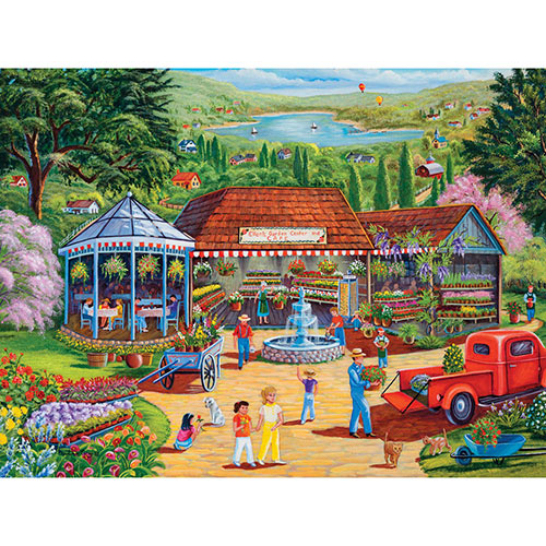 Garden Center 500 Piece Jigsaw Puzzle