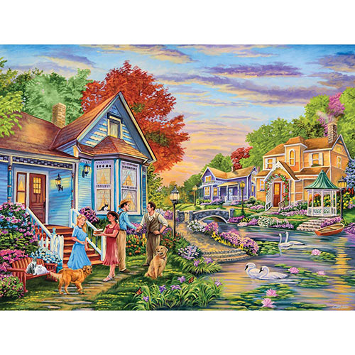 Welcome Neighbours 500 Piece Jigsaw Puzzle