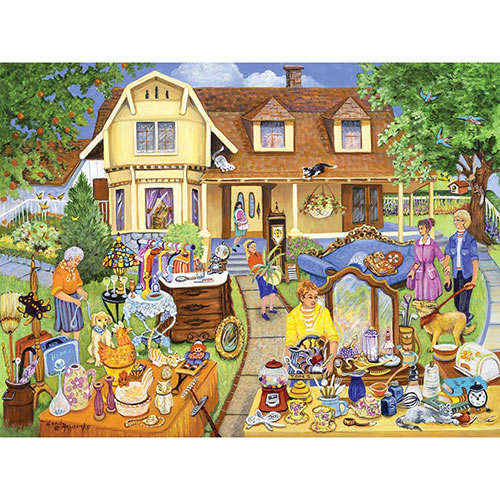 The Yard Sale 300 Large Piece Jigsaw Puzzle