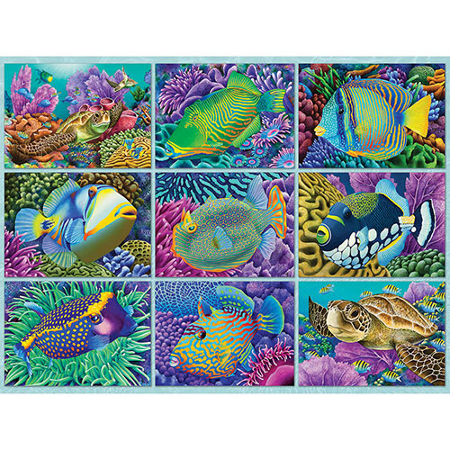 Reef Dwellers 500 Piece Jigsaw Puzzle