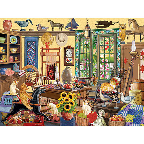 In Through The Open Door 1000 Piece Jigsaw Puzzle