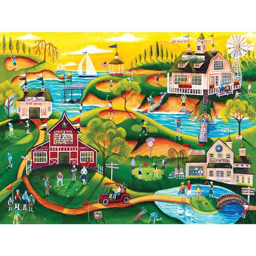 Red Barn Hill Golf Resort 1000 Piece Jigsaw Puzzle