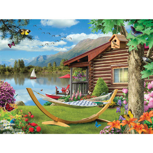 Summer Essence 300 Large Piece Jigsaw Puzzle