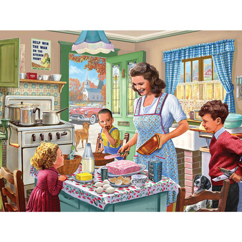 Kitchen Memories 500 Piece Jigsaw Puzzle