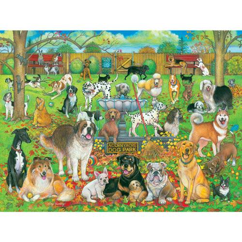 Dog Park Pals 300 Large Piece Jigsaw Puzzle