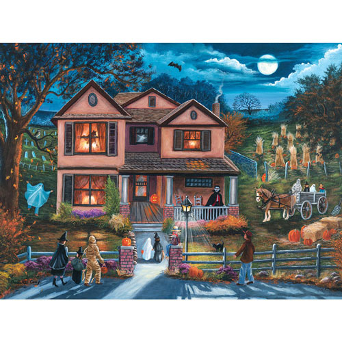 Yesterday's Halloween 300 Large Piece Jigsaw Puzzle