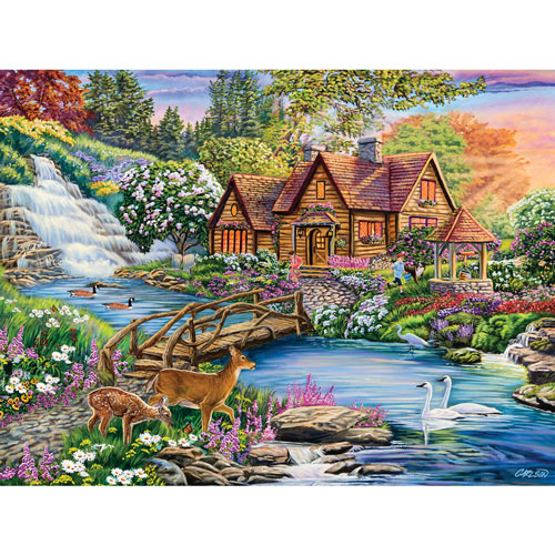 Enchanted Forest 500 Piece Jigsaw Puzzle