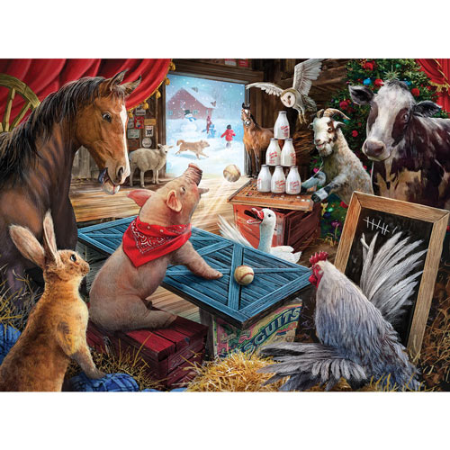 Winter Games 300 Large Piece Jigsaw Puzzle
