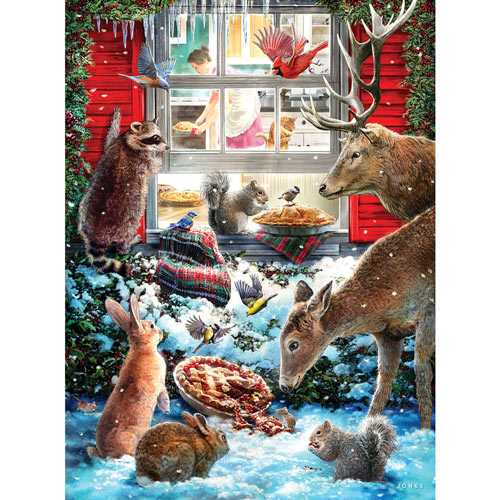 Christmas Pies 300 Large Piece Jigsaw Puzzle