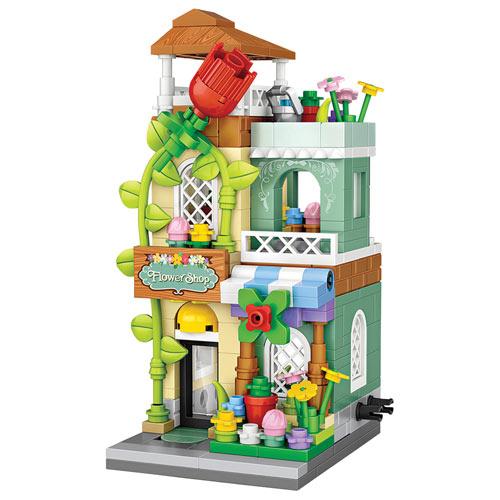 Your Town 3-D Block Puzzle - Flower Shop