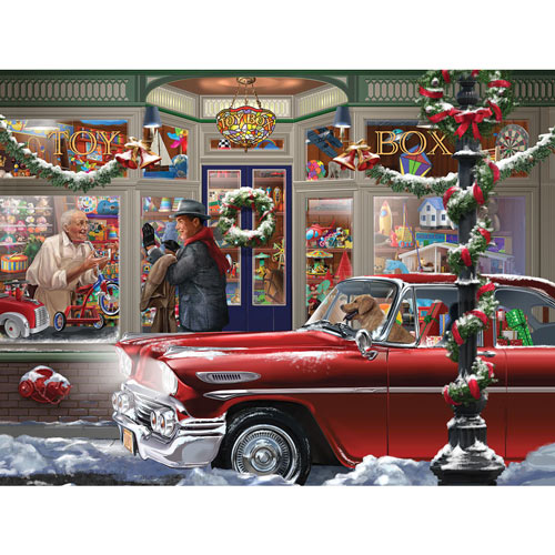 Last Minute Christmas 500 Piece Jigsaw Puzzle