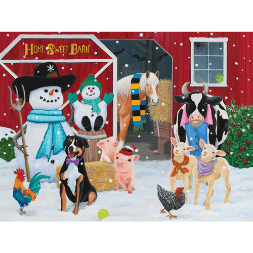 Home Sweet Barn 300 Large Piece Jigsaw Puzzle