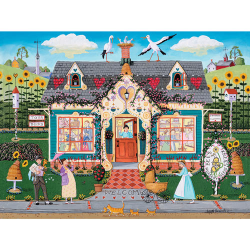 Bee's Knees 1000 Piece Jigsaw Puzzle