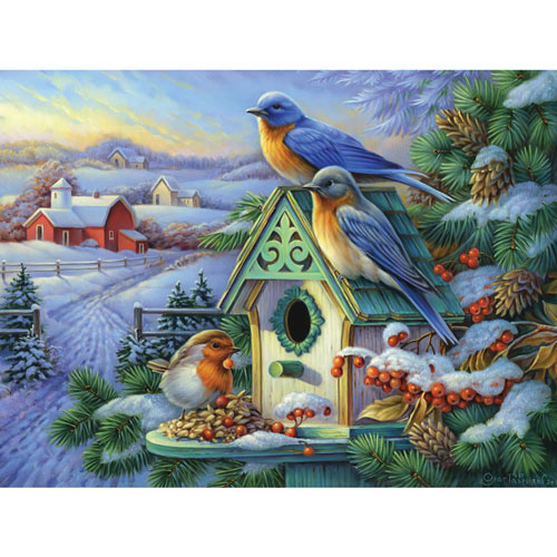 Golden Morning 300 Large Piece Jigsaw Puzzle
