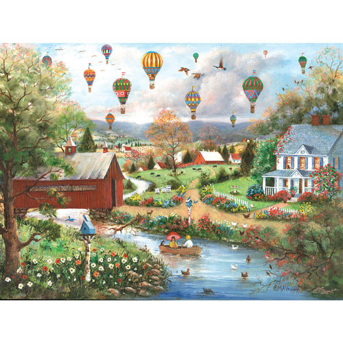 The Birds And The Bees 300 Large Piece Jigsaw Puzzle