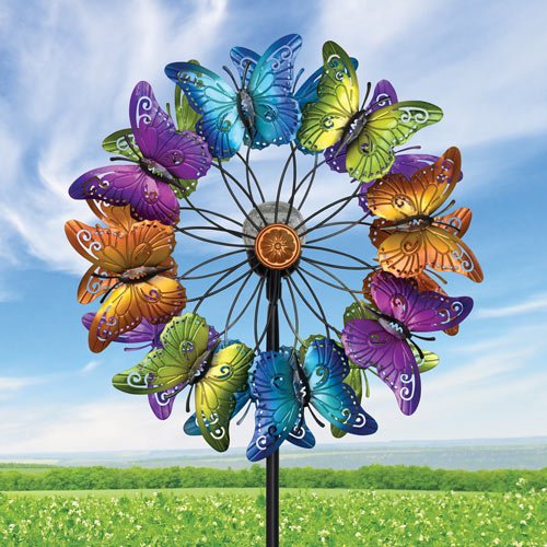 Butterflies LED Wind Spinner