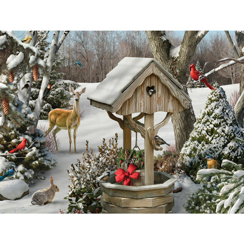 Winter Wishes II 300 Large Piece Jigsaw Puzzle