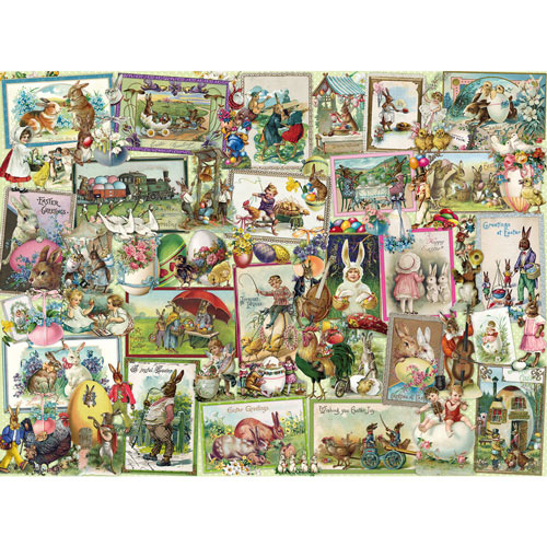 Easter Collage 300 Large Piece Jigsaw Puzzle