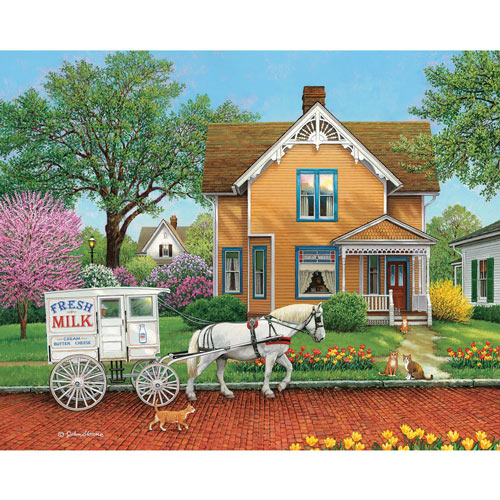 The Next Stop 300 Large Piece Jigsaw Puzzle