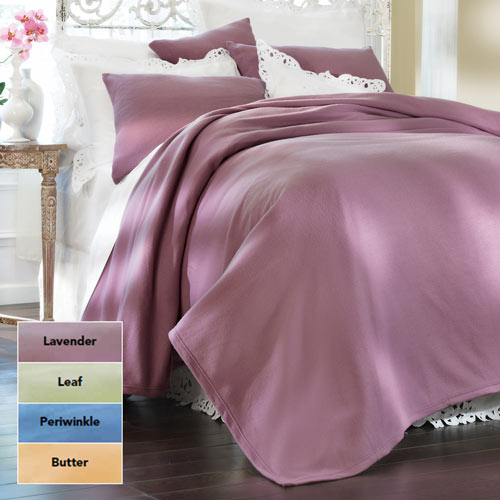 Solid Fleece Queen Blankets