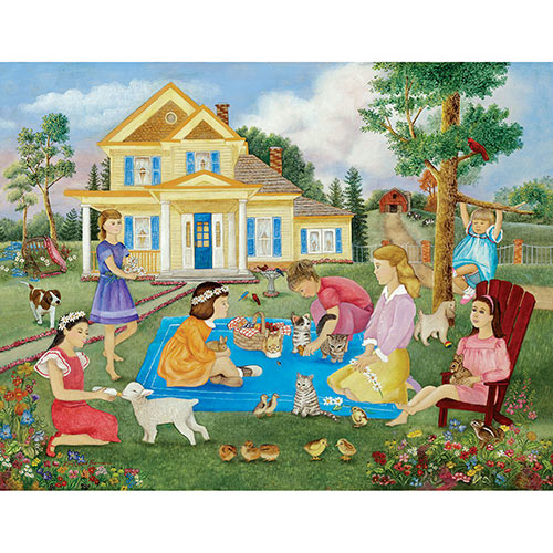 Girls' Fun 500 Piece Jigsaw Puzzle