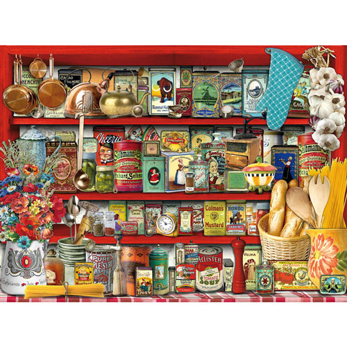 Kitchen Shelf 300 Large Piece Jigsaw Puzzle