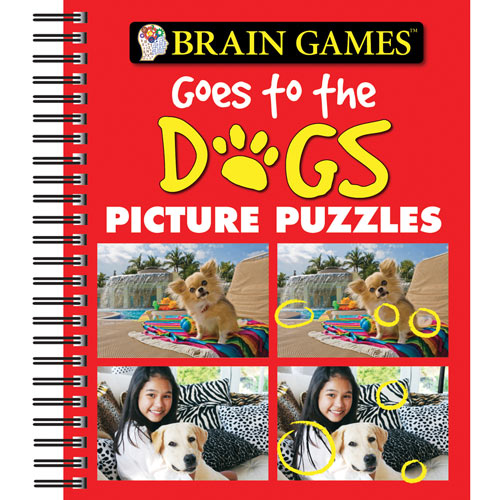 Brain Games Goes To The Dogs Picture Puzzles