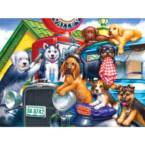 Station Attendants 500 Piece Jigsaw Puzzle