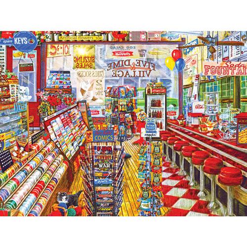 Five & Dime Store 500 Piece Jigsaw Puzzle