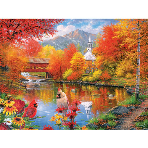 Autumn Tranquility 1000 Piece Jigsaw Puzzle