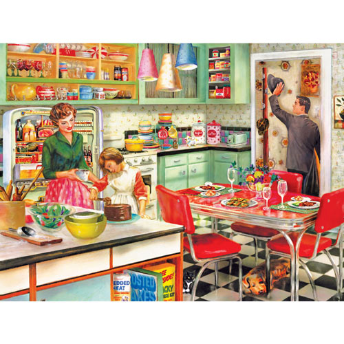 Baking With Mom 500 Piece Jigsaw Puzzle