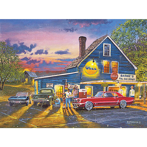 Taking the Back Roads 1000 Piece Jigsaw Puzzle