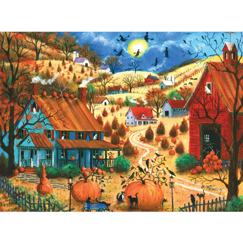 The Great Pumpkin Contest Visit 1000 Piece Jigsaw Puzzle