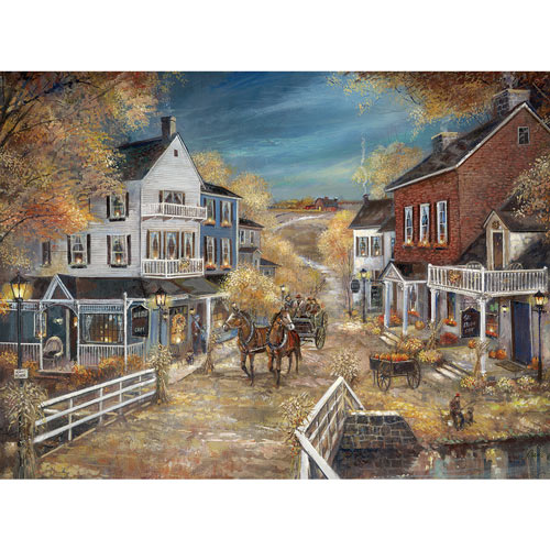 Harvest Cafe 300 Large Piece Jigsaw Puzzle