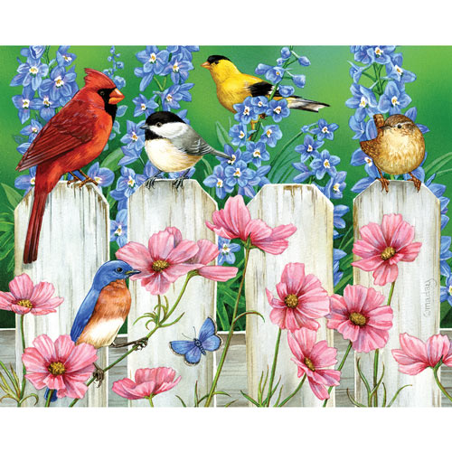 Picket Fence Pals 300 Large Piece Jigsaw Puzzle