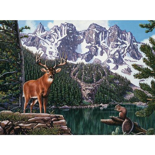 Emerald Lake 300 Large Piece Jigsaw Puzzle