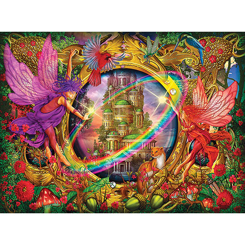 Faerie Glass 1000 Piece Holographic Jigsaw Puzzle