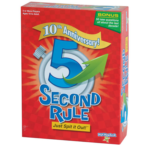 5 Second Rule 10th Anniversary Edition