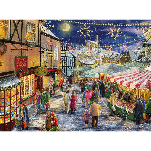 Christmas Festival 1000 Piece Jigsaw Puzzle