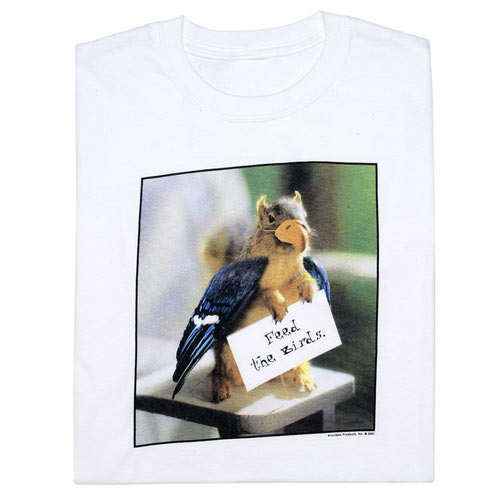 Feed The Birds T- Shirt