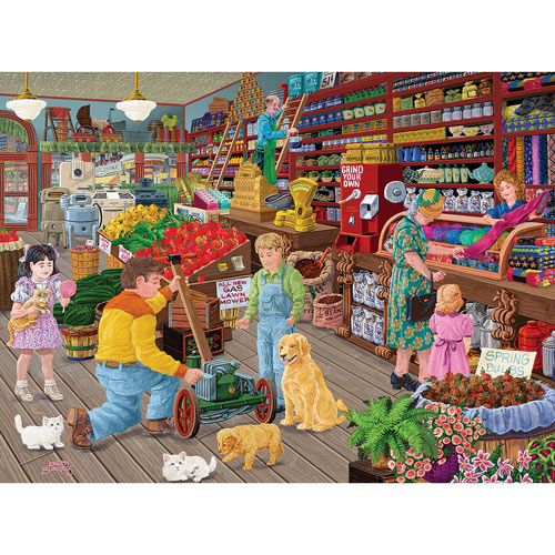 New Friends At The General Store 1000 Piece Jigsaw Puzzle