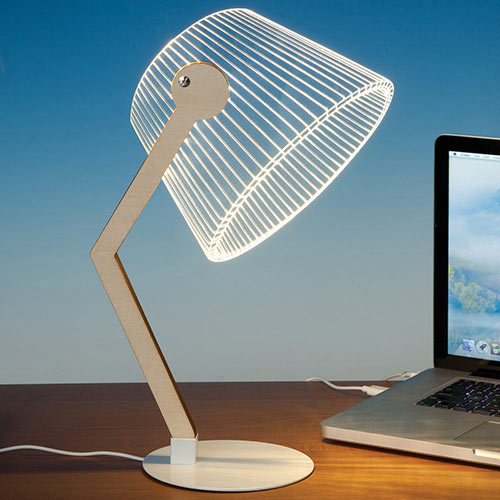 3-D Illusion Desk Lamp