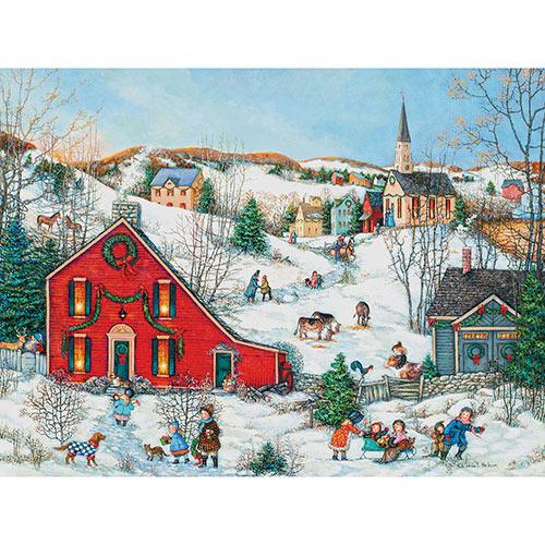The Christmas Salt Box 300 Large Piece Jigsaw Puzzle