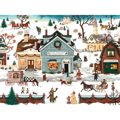The Village Toymaker 300 Large Piece Jigsaw Puzzle