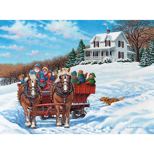 The More the Merrier 500 Piece Jigsaw Puzzle